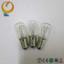 Base e12 incandescent light bulb T20 oven light bulb 10W with China factory price
