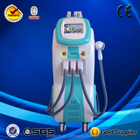 big vertical 3 in 1 elight rf nd yag laser beauty machine