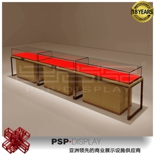 2015 modern custom design jewelry store decoration commerial store fixture showcase