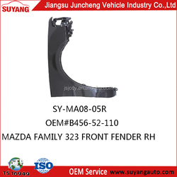 Front fender of MAZDA family 323 hot sale japan auto spare parts