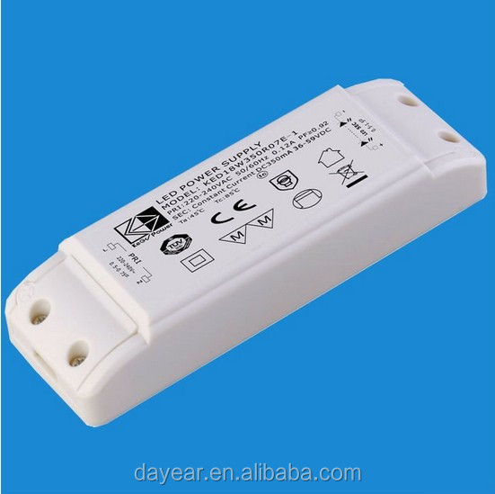 300mA 36W led driver /LED power supply outdoor led transformer CE RoHS IP67