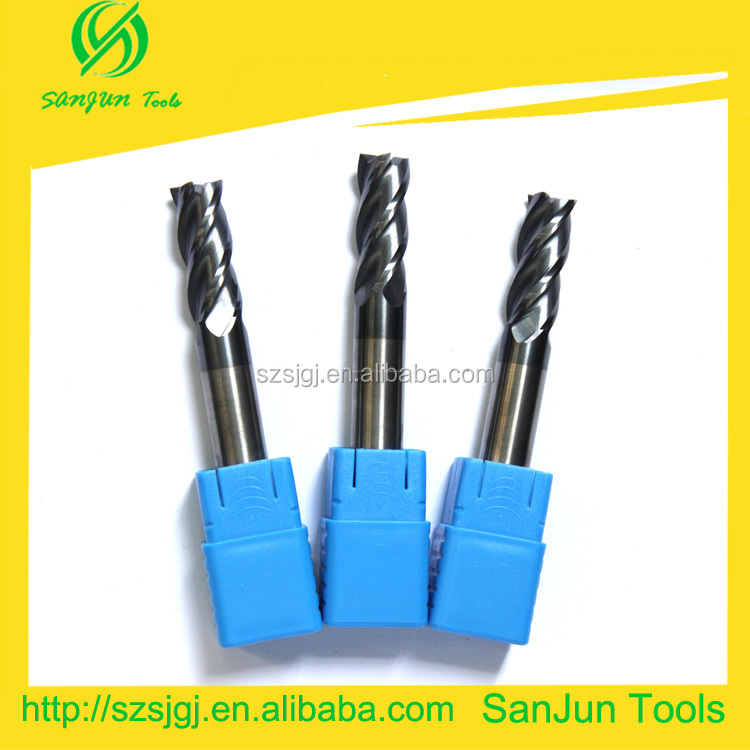 carbide end mill cutter /solid carbide end mi/ end mill cutter sizes