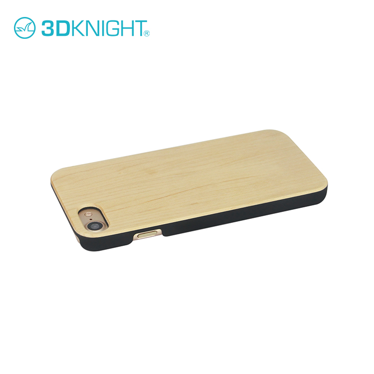Real maple wood phone case photos for iphone cover 8/7/7 for apple smart anti-theft mobile phone covers