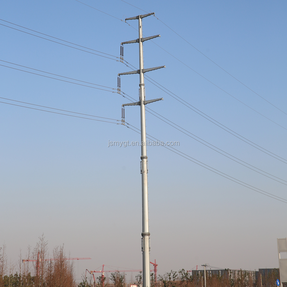 how tall is electric pole