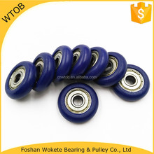5x22.8x6.8 mm Bearing Wheel With Iron Bearing 625ZZ Nylon Coating Pulley