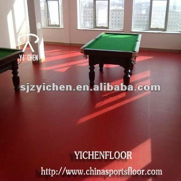 pvc sports/ plastic floor indoor table tennis court surface