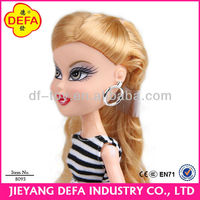 super sex girl Asary plastic products for kids/fashional girl dolls with exchange cloth and accessories