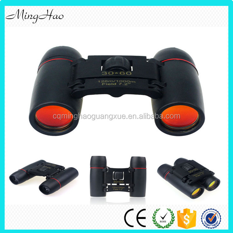 Minghao Chinese Manufacturer 8x Rubber Promotion Comet Binoculars for Children