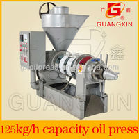 continuous squeezing cotton seed oil extracting machine in production line