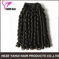 spring curl human hair wefts