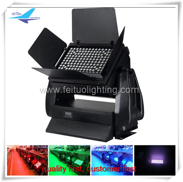 led outdoor lighting wall pack light 500w stage light city color spot led exterieur rgbw