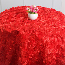 "120"" Decorative/Office decorative Hotel Use Table Cloth for wedding birthday party"