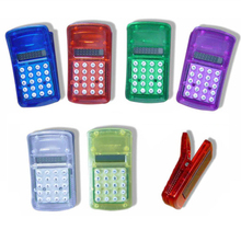 Multi-Functional Clip Mini Pocket Calculator Promotion Gift mini calculator with magnet