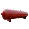 Horizontal Industrial Lpg Gas Tank Pressure Vessel Equipment