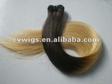Hot new products for 2014 top grade wholesale 1b 613 two tone hair