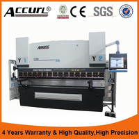 Alibaba Best Manufacturers,Delem DA52 hydraulic press brake 100ton, used steel bending machine for sale