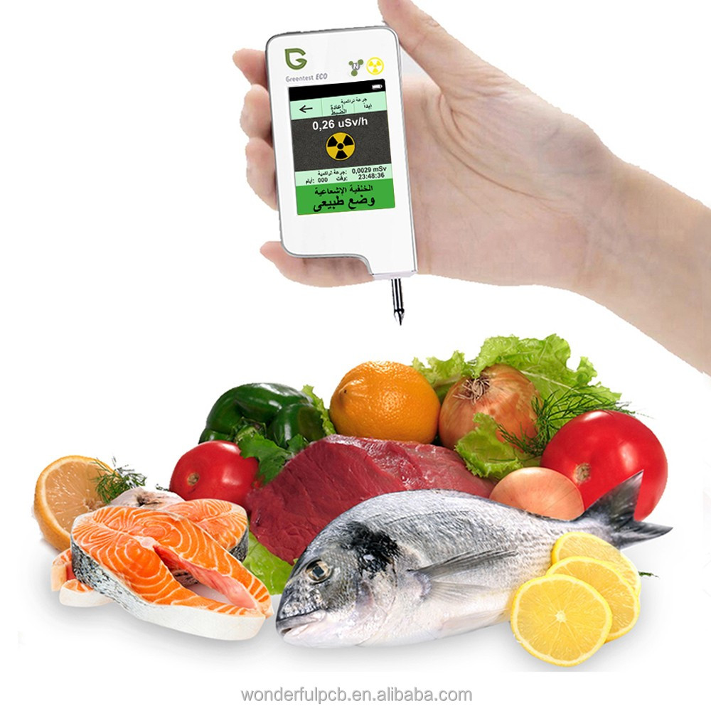 latest portable nitrate radiation tester Greentest testing fruit vegetables and eco meat