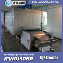 Large Capacity IQF Chicken Fast Freezing Machine