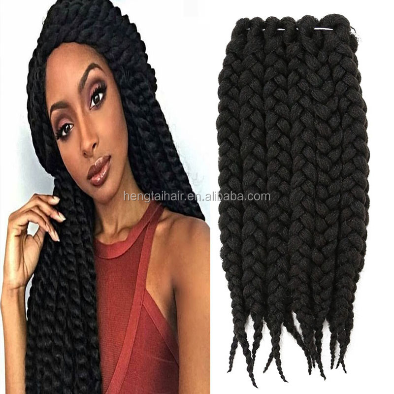Crochet Braid Hair Havana Mambo Senegalese Twist Hair Ombre Jumbo ...
