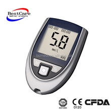 medical standard blood sugar monitoring glucometer used easy in vitro disposable one touch blood glucose