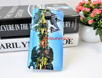 3D Sublimation case for galaxy note 3 Sublimation film case blanks china