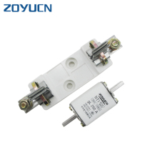 Zoyucn NT1 40 amp 30a glass low voltage cylindrical fuse holder