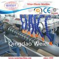 Soft PVC helix suction pipe hose tube extrusion machine