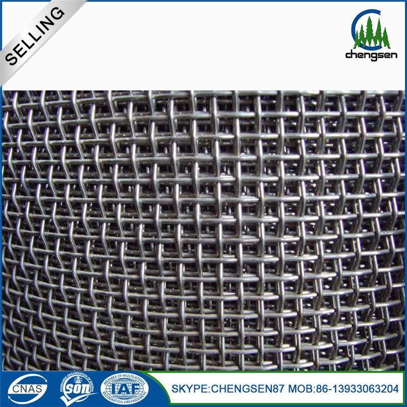 New products mining screen wire mesh knitted wire mesh pre crimped mesh