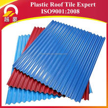Impact Resistant Transparent Colorful Resin FRP roofing sheets