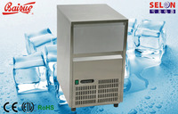 22kg/24hours, solid, transparent square ice maker, ice machine