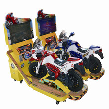 Newest arcade game coin operated mini TT motorcycle racing game simulator