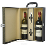 best quality leather wine case for hotel