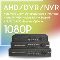 4ch H.264 network DVR for ahd CCTV camera system with free client software DVR