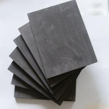 50x50x1mm high pure graphite plate electrode for electrolysis with factory price