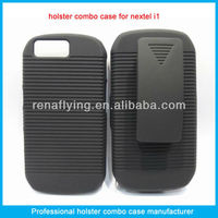 Nextel phone holster with swivel belt clip
