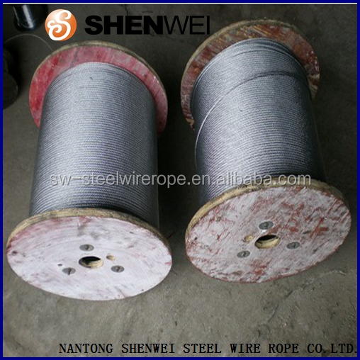 Hot Dip 7x7 Galvanized Used Crane Steel Wire Rope Manufacturer
