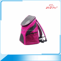 Eco Friendly Foldable Backpack Pet Carrier Colorful Luxury Pet Bag