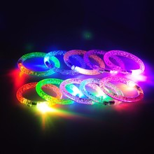 Custom Promotional Party Sound Activated Led Bracelet,Motion Activated Led Bracelet,Led Flashing Bracelet