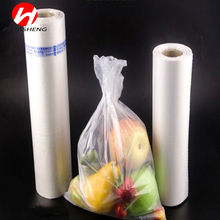 High Quality HDPE Material Plastic Flat Food Packaging Bags on roll
