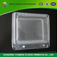 Best price superior quality disposable clear plastic cube gift boxes