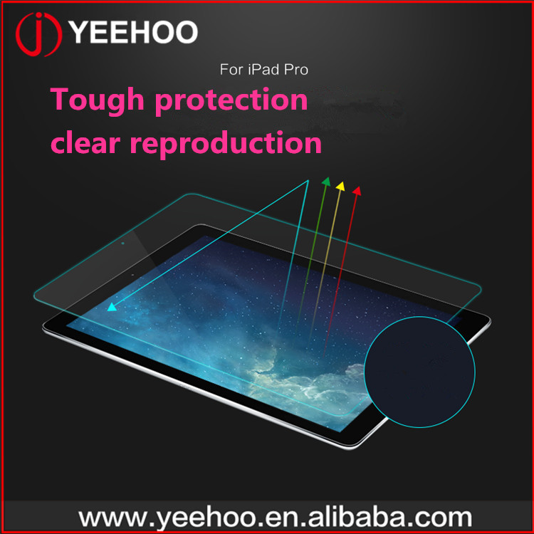 transparent tempered glass screen protectors for ipad mini 1/2/3/4