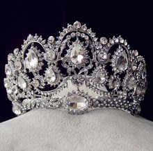 Yiwu crystal bridal crown wedding tiara