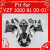 Brand new YZF R1 2000 2001 ABS plastic, 2000 2001 body kit Black/white