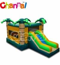 Rental used palm tree inflatable bouncy castles