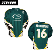 Alibaba top quality jersey hockey, manufacturer wholesale cheap ice hockey jerseys