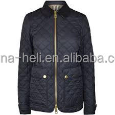 Women diamond quilting jacket