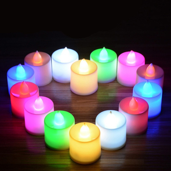 Funny birthday candlewith battery night party led candle birthday candle Sparkling birthday candle with battery night party led