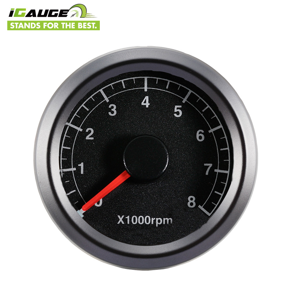 48mm Rust proof 1200 RPM Tachometer for Motorcycle