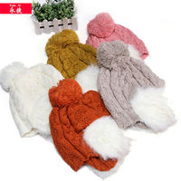 2014 wholesale beanie hat with ear muff