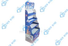 ok band aid promotion cardboard floor displays shelf four layers